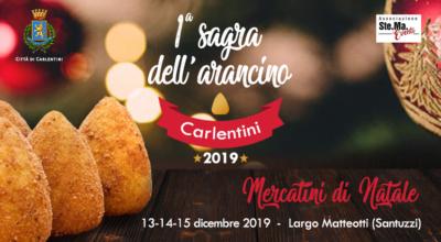 1° Sagra dell'arancino – Carlentini