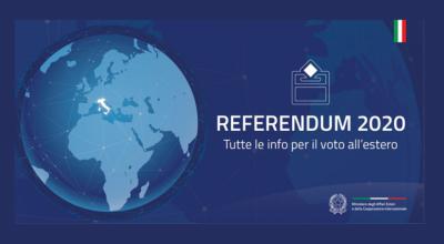 Referendum Costituzionale: Indetto per il 29 marzo 2020