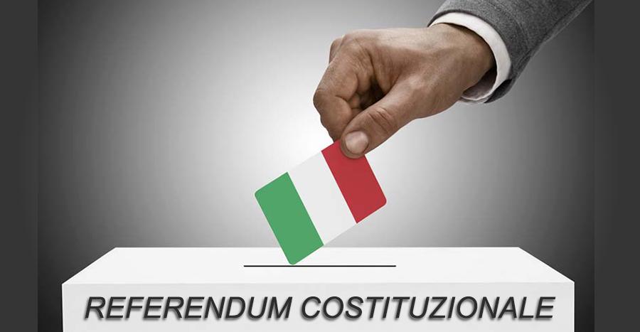 Referendum Costituzionale: convocazione dei comizi