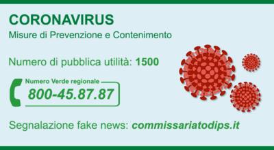 Coronavirus: misure di prevenzione e contenimento