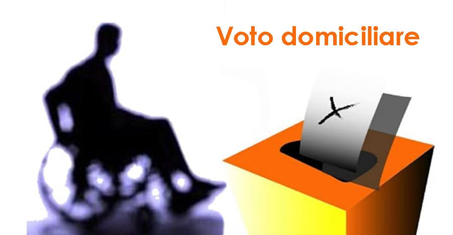 Referendum Costituzionale: esercizio del voto a domicilio