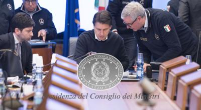 Presidenza del Consiglio dei Ministri: Misure urgenti di contenimento del contagio da coronavirus
