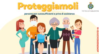 """""""PROTEGGIAMOLI"""": Servizio di consegna a domicilio medicinali e spesa per persone in """"fascia protetta"""""""