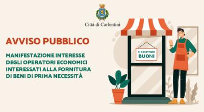 Modulo online manifestazione interesse operatori economici – lista attività accreditate buoni spesa