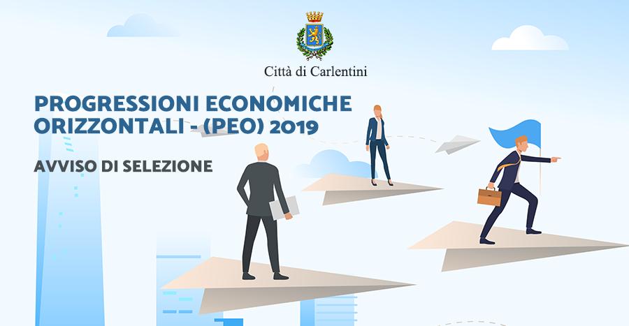 Avviso di selezione per l'attribuzione delle Progressioni Economiche Orizzontali (PEC) – Anno 2019