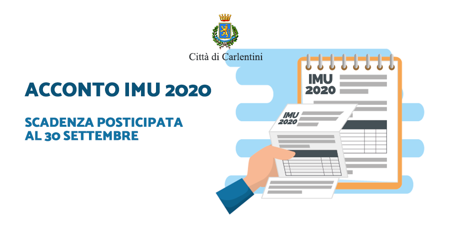 Acconto IMU 2020: fino al 30 settembre senza sanzioni