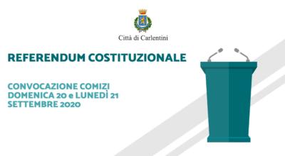 Referendum Costituzionale: convocazione comizi