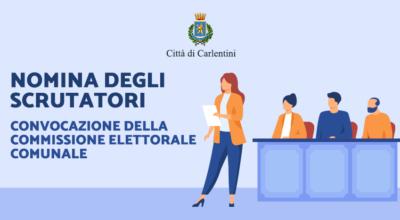 Convocazione della Commissione Elettorale Comunale per la nomina degli scrutatori