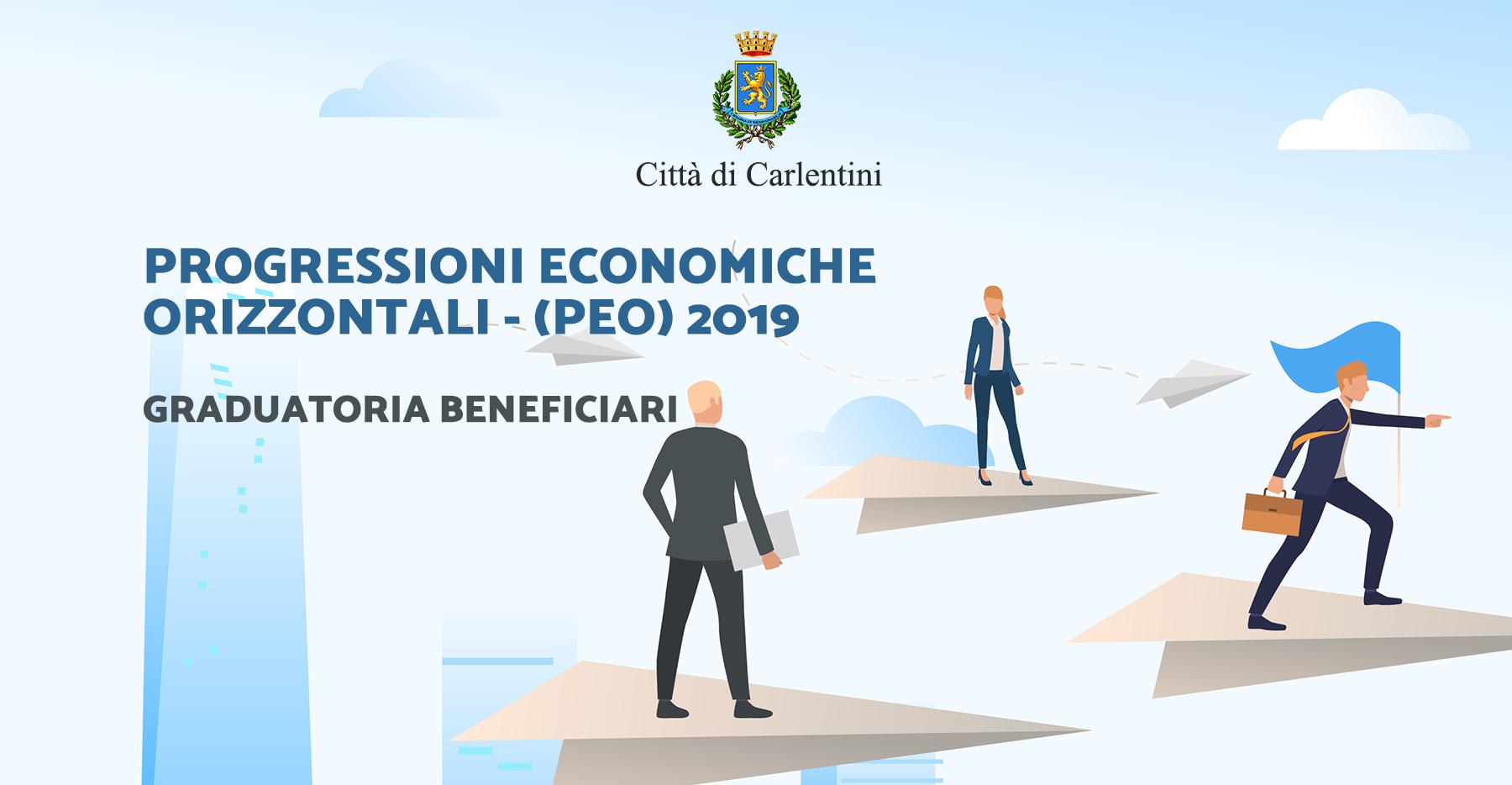 Progressioni Economiche Orizzontali (PEC) – Anno 2019: graduatoria beneficiari