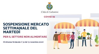 Ordinanza Sindacale n° 32 del 13 novembre 2020