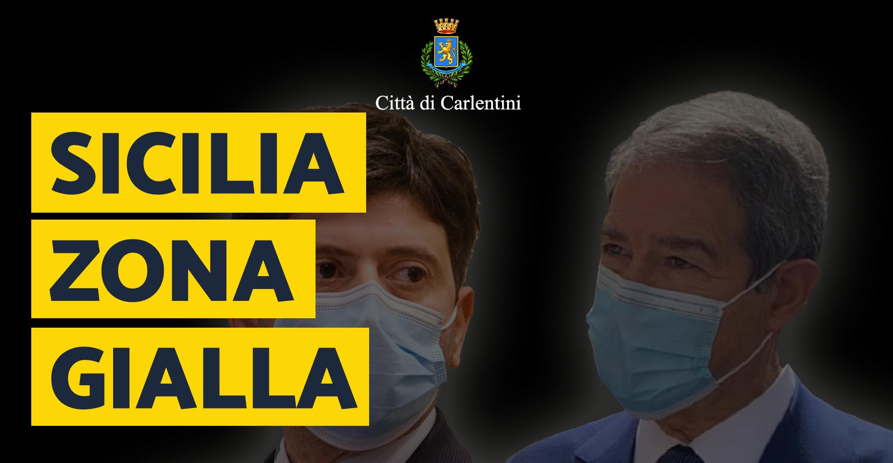 """Sicilia """"Gialla"""": il DL e l'Ordinanza Regionale"""
