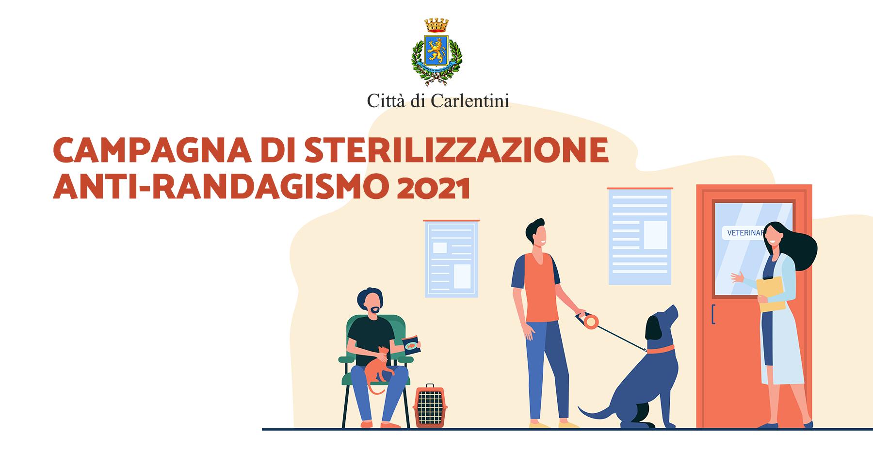 Campagna sterilizzazione anti-randagismo 2021