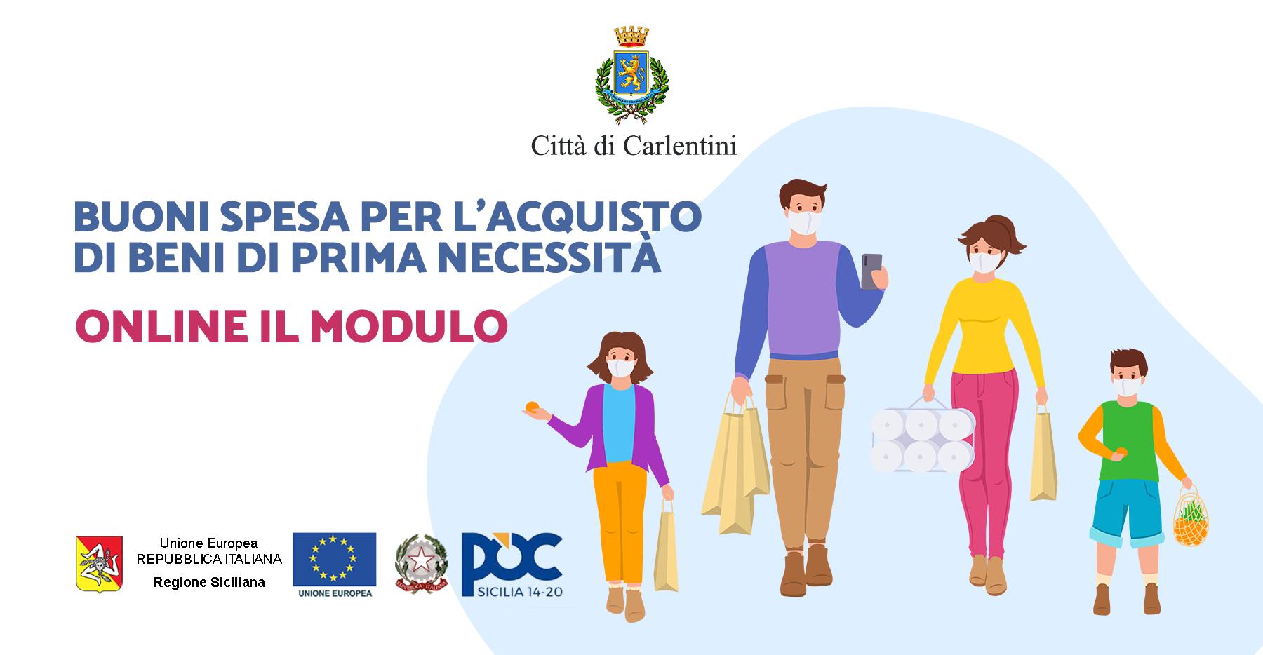 Misure di sostegno all'emergenza socio-assistenziale da covid-19: Online il modulo