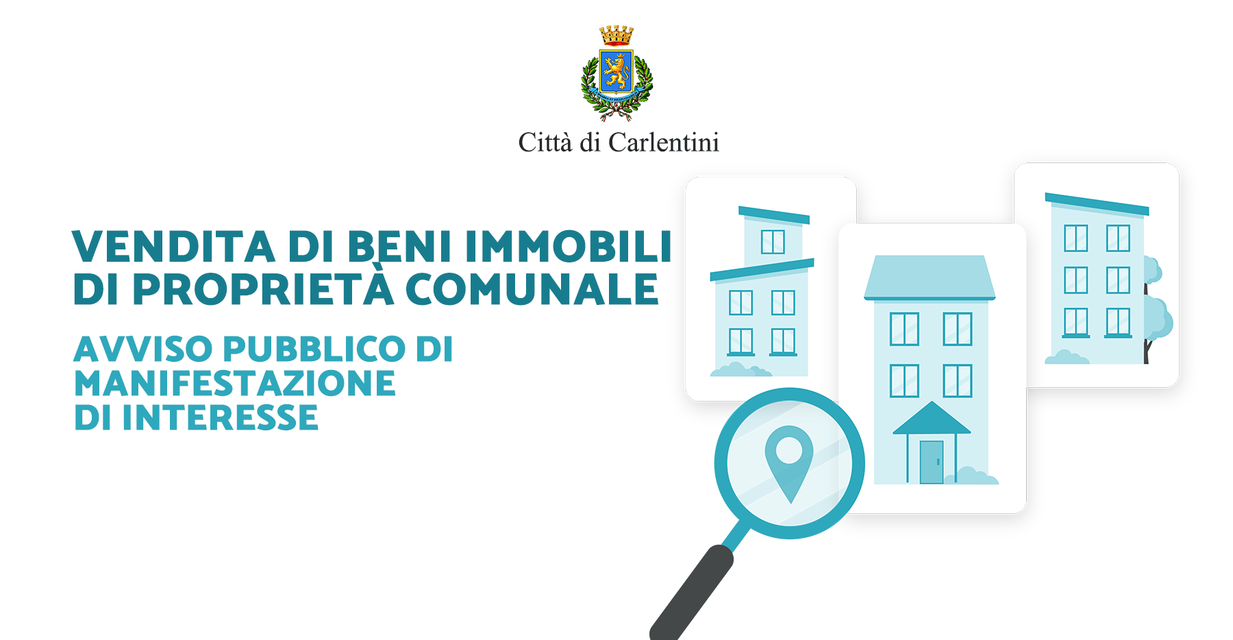 Vendita di beni immobili di proprietà comunale: avviso pubblico di manifestazione di interesse.