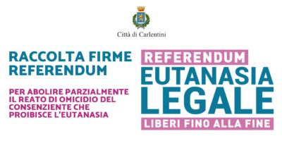 Eutanasia legale: Raccolta firme Referendum