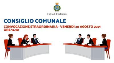 Consiglio Comunale: convocazione straordinaria per venerdì 20 agosto