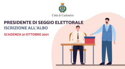 Presidenti di seggio elettorale: iscrizione all'albo