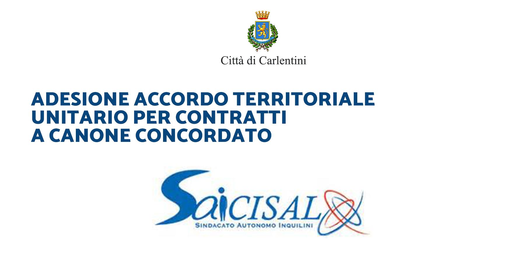 Contratti a canone concordato: accordo territoriale unitario