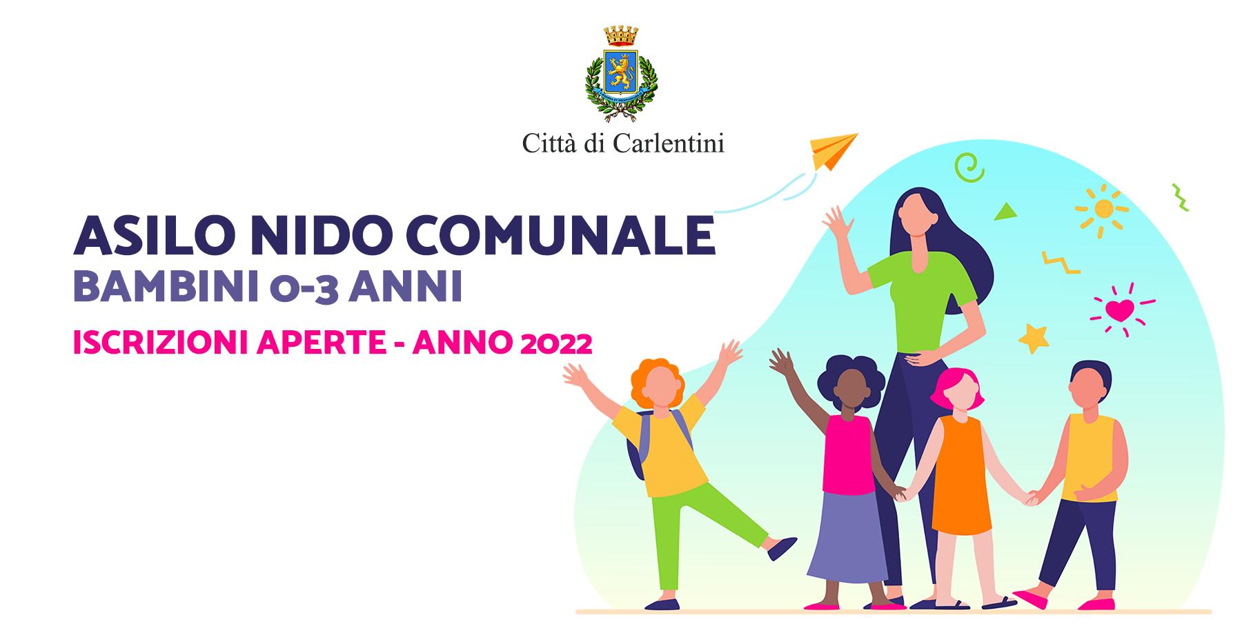 Asilo nido comunale: aperte le iscrizioni per l'anno 2022